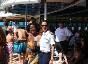 Interview with Jewel of the Seas Staff Captain Kate McHue