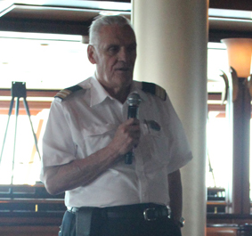 Tony Fitzsimmons Food and Beverage Director on the Jewel of The Seas