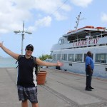 Caribe Cay Boat BJ Welcoming St. John TravelXena