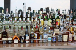 Liquor-Bottles-at-Bar-TravelXena-1