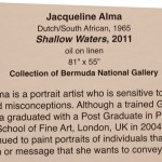 Jacqueline Alma Shallow Waters 2011 Bermuda National Gallery Travel Xena 1