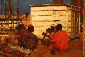 Sir Frank Brangwyn Zanquabar Zanzibar 1891 Bermuda National Gallery Travel Xena 3