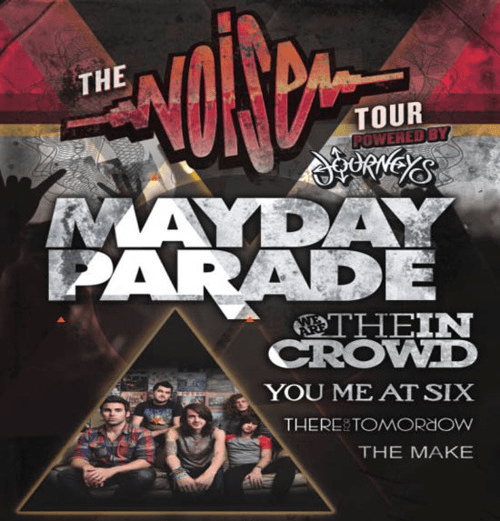 Mayday Parade Announce Fall Tour With We Are The In Crowd You Me At Six There For Tomorrow Mayday Parade Announce Fall Tour With We Are The In Crowd, You Me At Six, There For Tomorrow