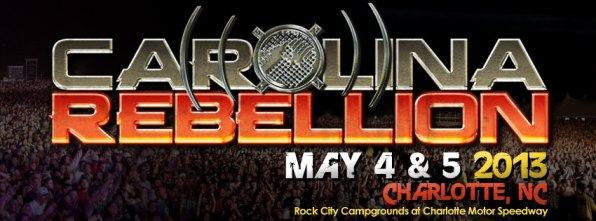 Carolina Rebellion Carolina Rebellion 2013 Line Up Revealed