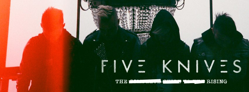 Five Knives Giveaway   Warped Tour Tickets To See Five Knives