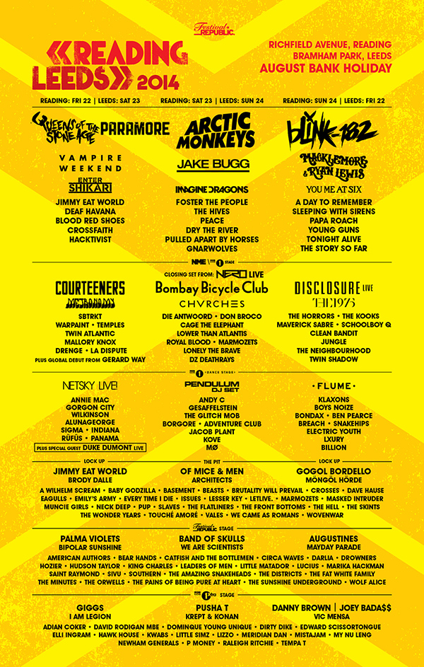 Gerard Way, We Came As Romans, La Dispute, More Added To Reading and Leeds
