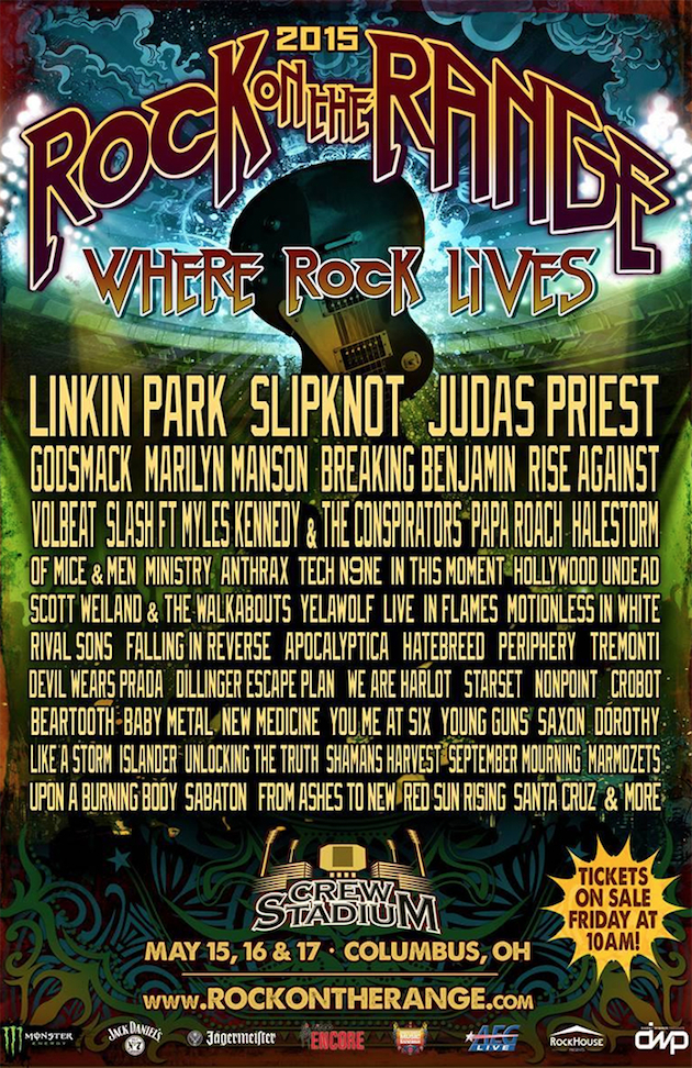 Rock On The Range Festival