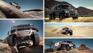 Mercedes-Benz G 63 AMG 6x6 collage