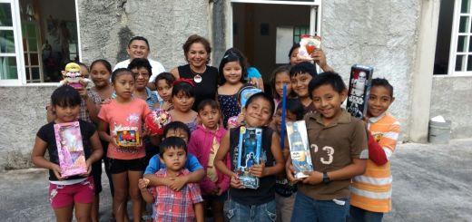 Ayuda a niños Cozumel