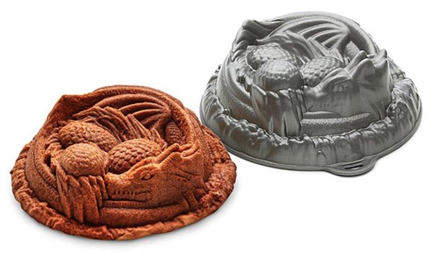 Dragon Cake Pan - geeky food ideas