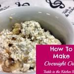 A Breakfast Favorite:  Overnight Oats