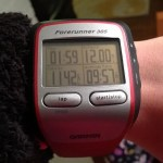 12 mile run garmin