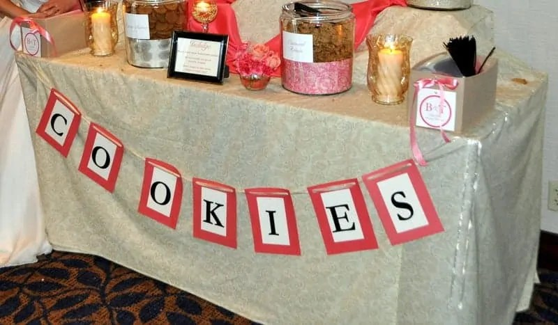 Deal Rochford Wedding Logo Cookie Bar 3