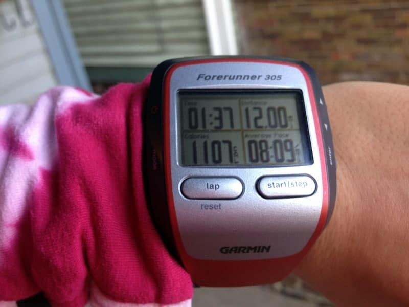 12 mile run