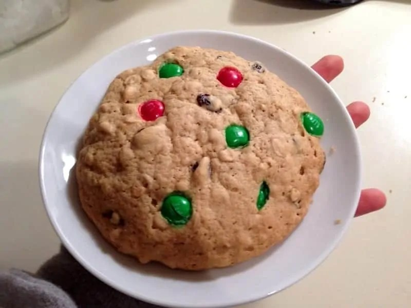 single serve cookie