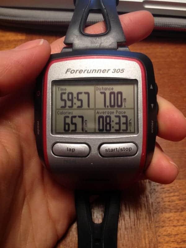7 miles garmin