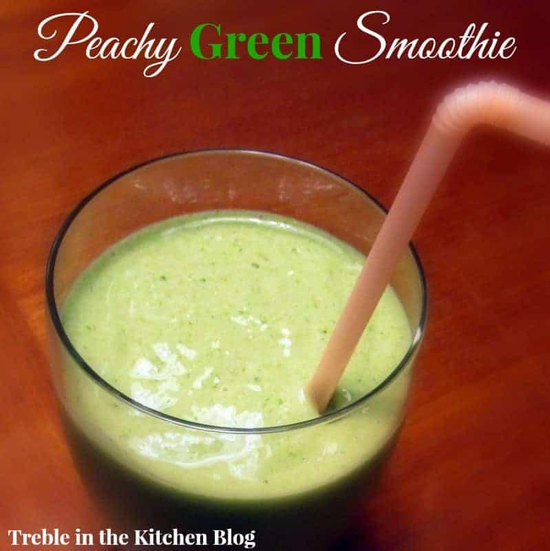 Peachy Green Smoothie