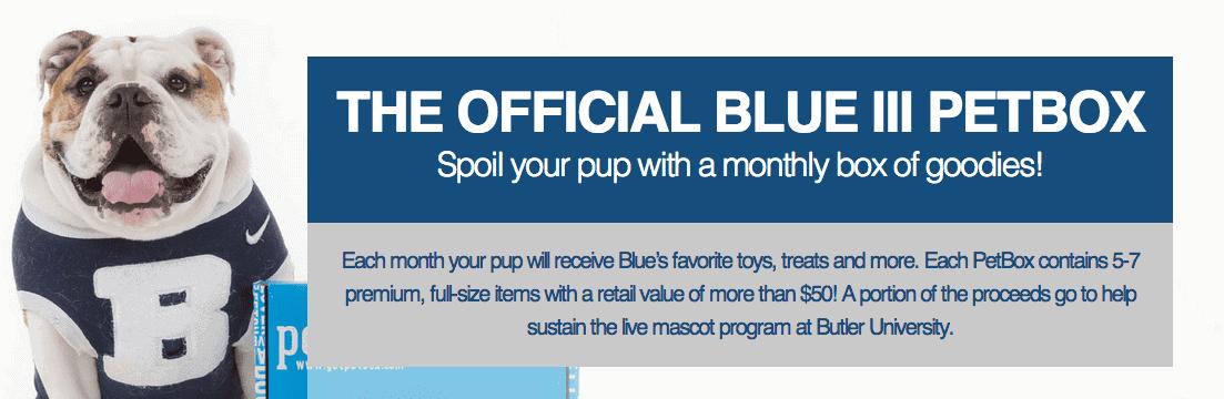 blue III petbox