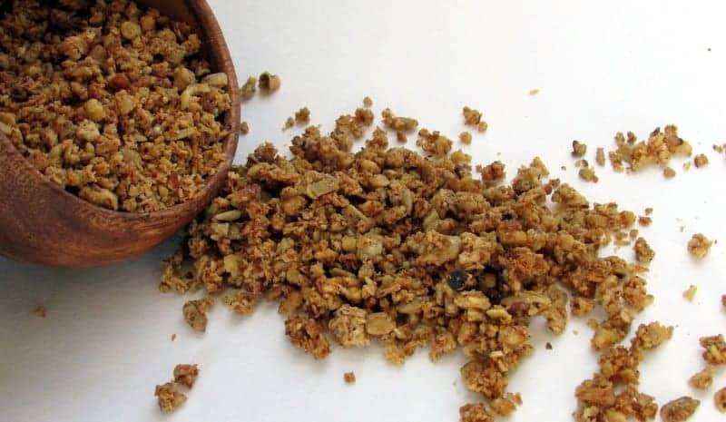 Coconut Maple Granola low FODMAP paleo friendly via Treble in the Kitchen