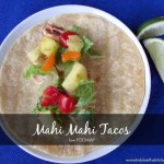 low FODMAP Mahi Mahi Tacos via Treble in the Kitchen
