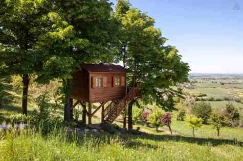 Treehouse in Italy - The Monferrato Aroma(n)rica Treehouse
