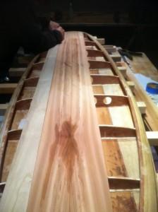 New method for installing deck planks