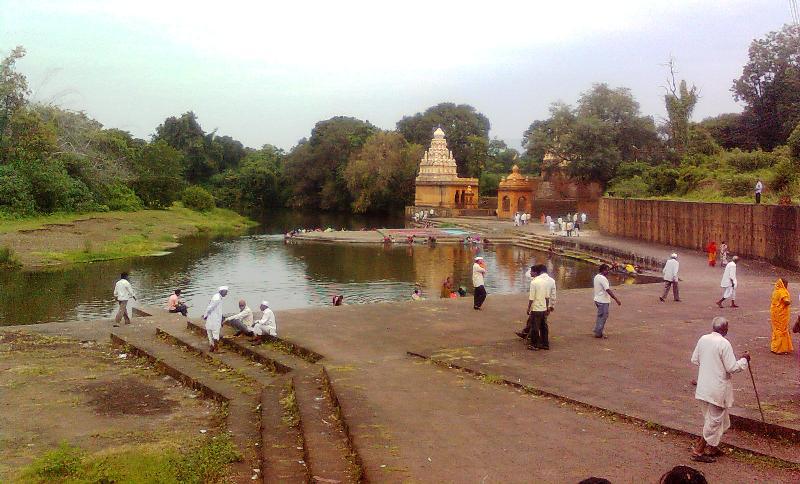 Menavali Krishna river ghat movie dabang shooting