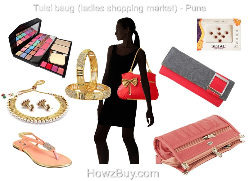 Tulsi baug (ladies shopping market) - Pune, shop till you drop
