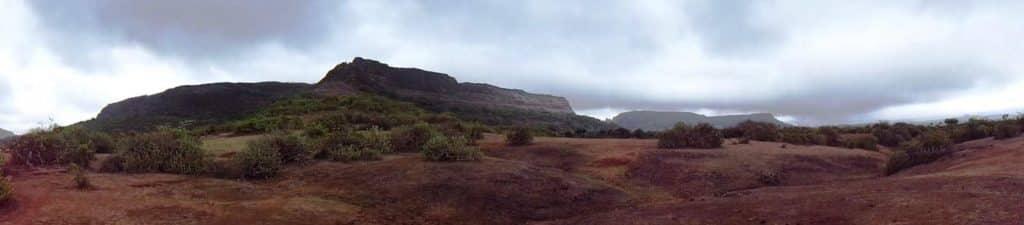 Fort Lohagad Visapur panaromic view