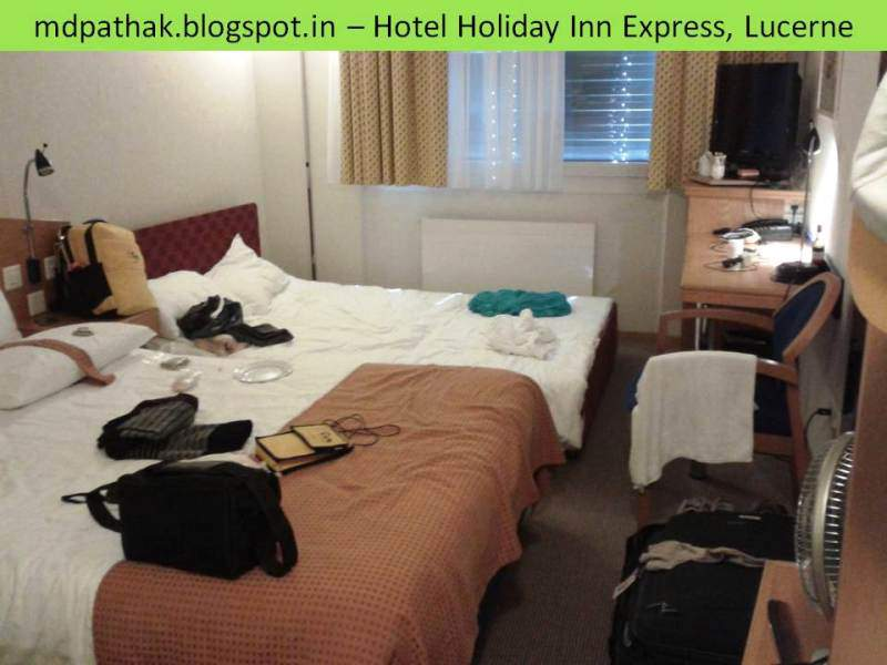 Hotel holiday inn express Lucern room