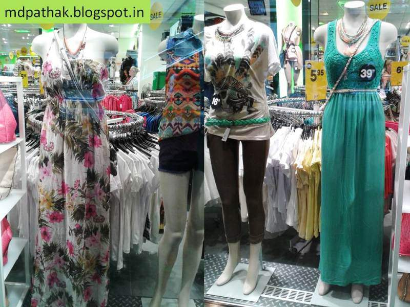 Switzerland window shopping fashion