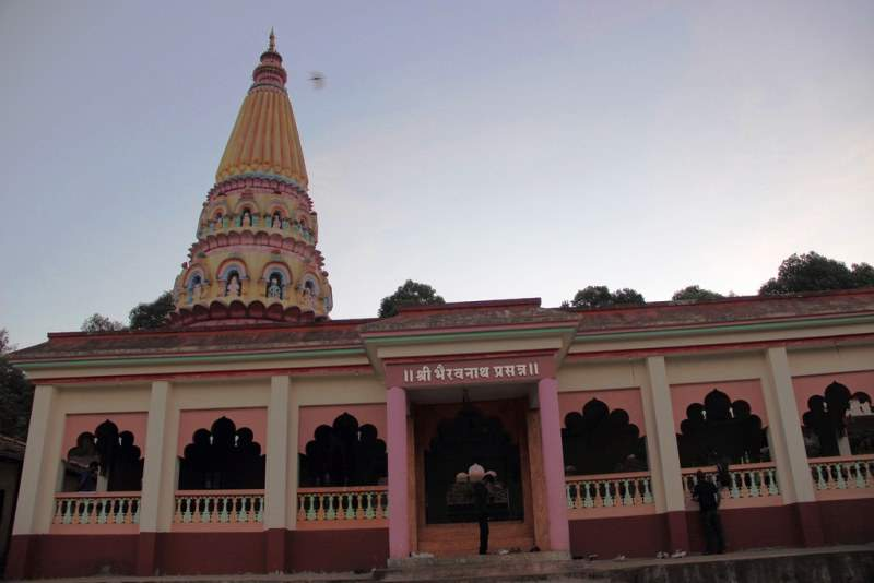 Bhairvnath temple Bamnoli