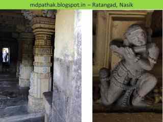 Amruteshwar temple carving pillars