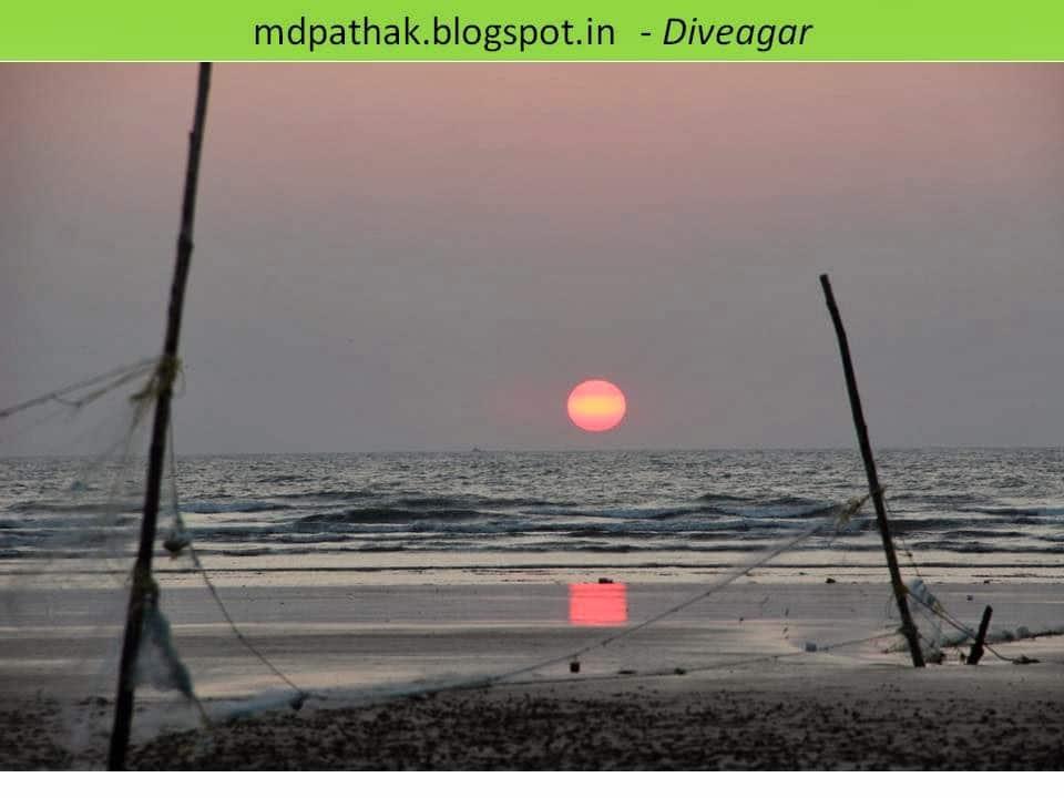 diveagar beautiful sunset