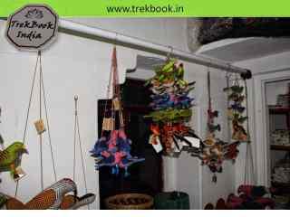 wall hangings souvenir Ranthambore India