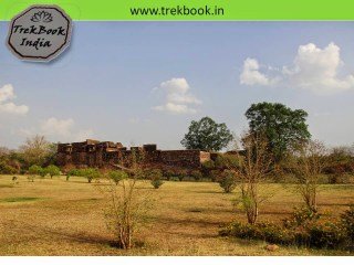 palace on fort ranthambore india