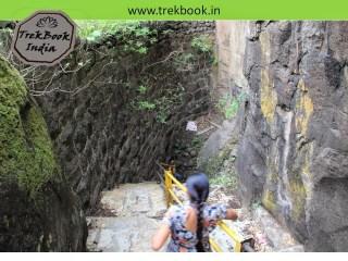 going inside famous caves of Kalyangad Fort, Nandgiri Village, Satara