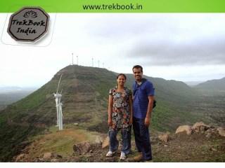wind mills at Kalyangad Fort, Nandgiri Village, Satara