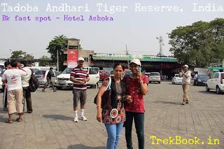 food at hotel ashoka tadoba road