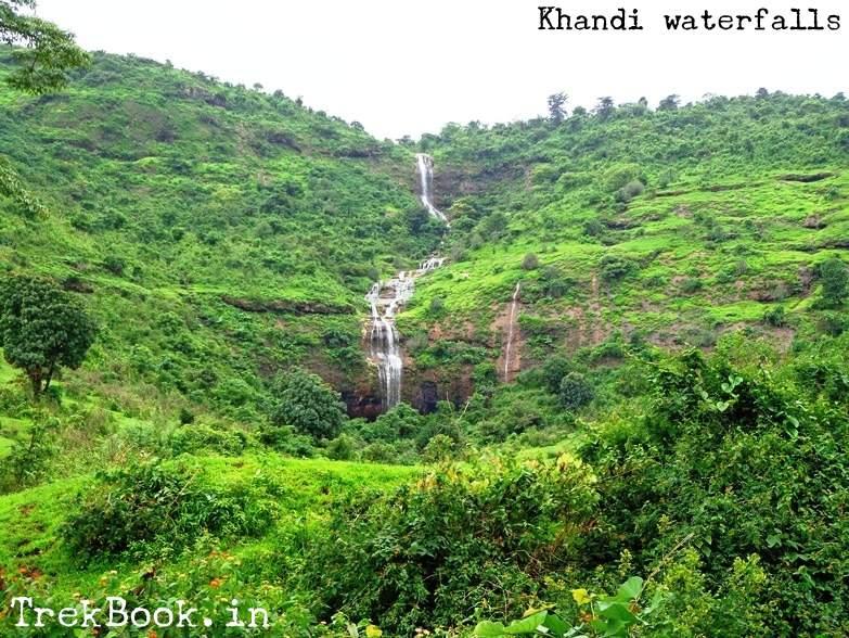 khandi waterfalls - falling over caves