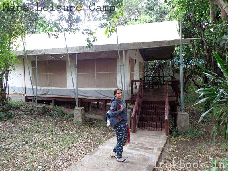 Mara Leisure Camp reached the tent
