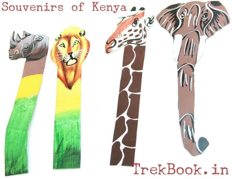 souvenir kenya book marks