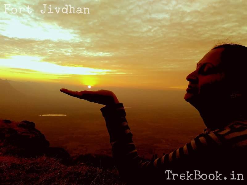 sun set from fort Jivdhan & nanacha angtha, naneghat