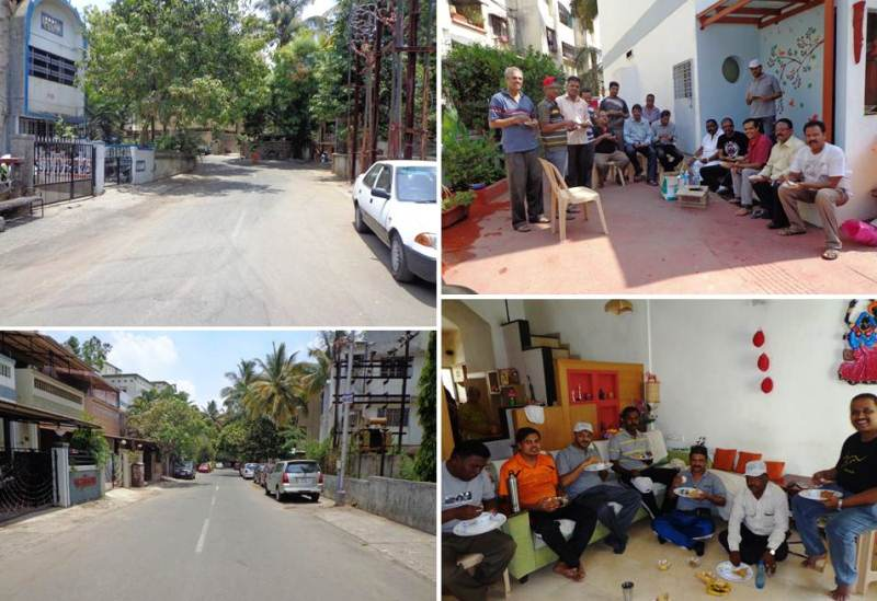 after cleanmyindia drive clean area
