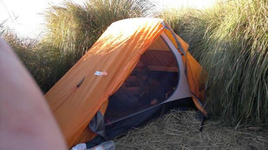 Acampamento no Capim Amarelo - Travessia da Serra Fina