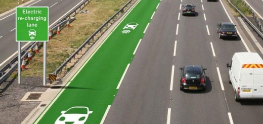 The British government is testing a new road technology that charges electric cars