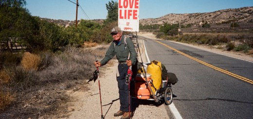 Meet Steve Fugate, the real life forrest gump whose walk across America will inspire you to live and love life!