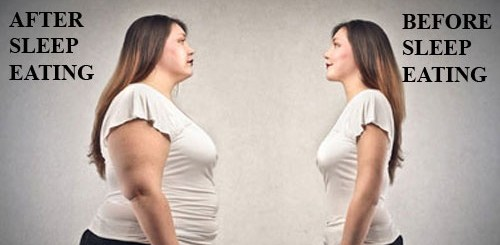 Sleep walking or Sleep eating – What's worse She didn't know why she was putting on weight until she found out this