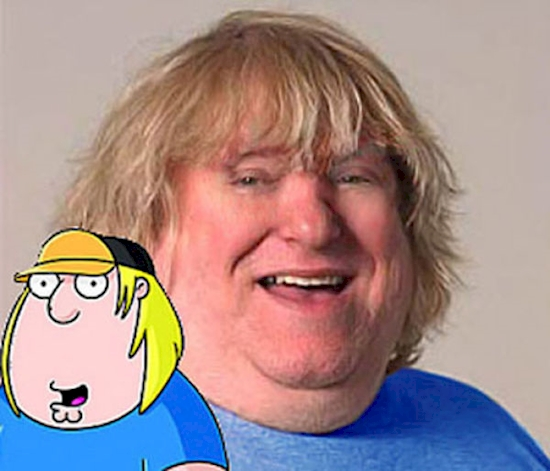 Chris Griffin from 'Family Guy