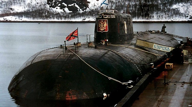 Kursk nuclear submarine disaster